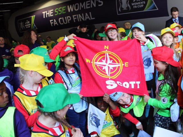 Scott 'Wild Cats' at Wembley