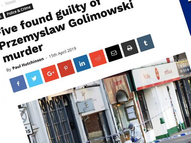 The report about the Przemyslaw Golimowski trial that lead to death threat phone calls