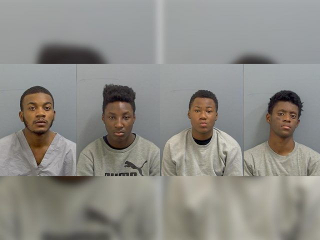 (l-R) Aaron Miller, Caleb Brown, Jacob Morgan, Ramon Djuana