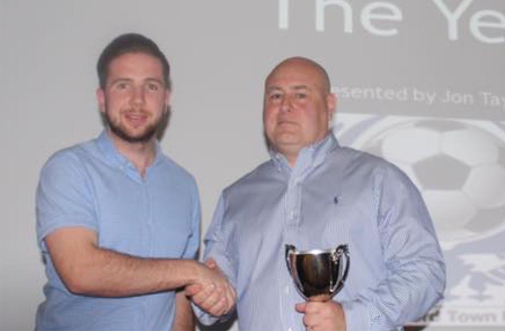 (l-r) Brett Longdon and Manager Jon Taylor