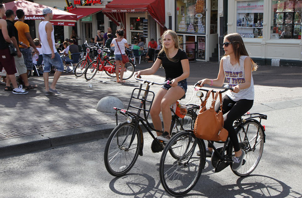 Cycling Amsterdam