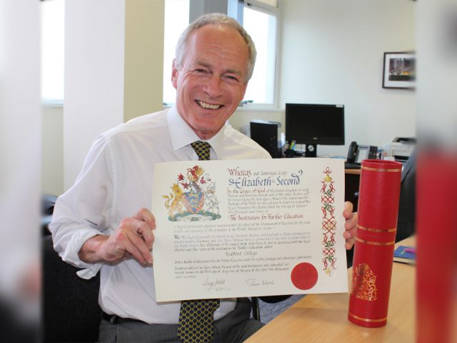 Ian Pryce and Bedford College Charter