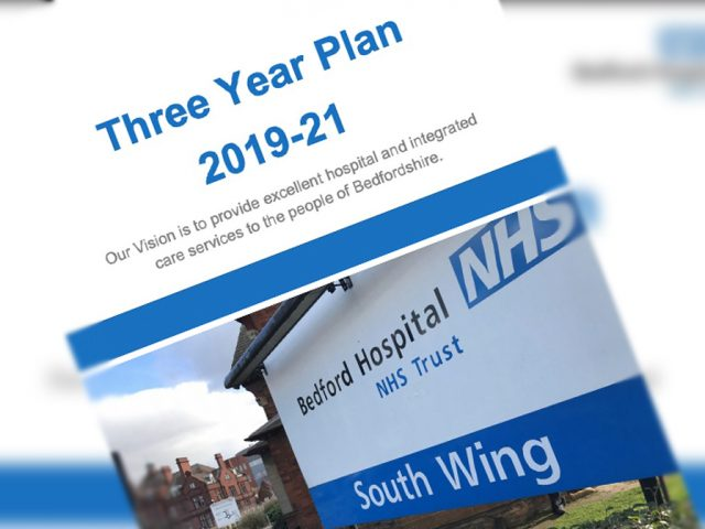 Bedford Hospital three-year-plan
