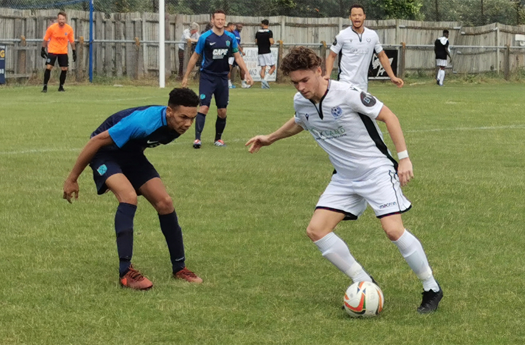 Connor Tomlinson Bedford v Arlesey Town 20 July