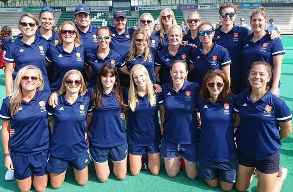 England O35's hockey squad