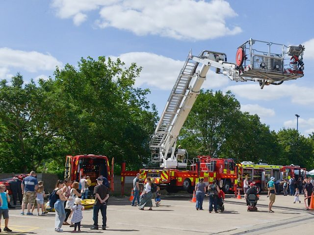 Fire station family fun day