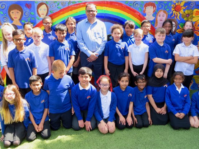 Mohammad Yasin MP at Priory Primary School