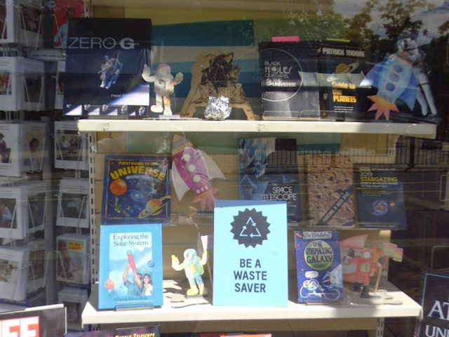 Oxfam window