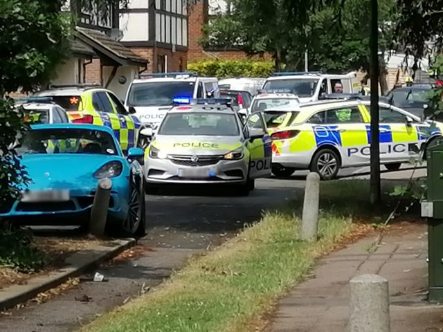 Police Chantry Road, Kemspton 18 July