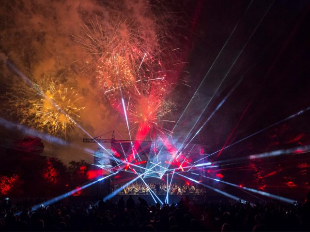 Prom 2019 Fireworks. Credit: Martin McKay