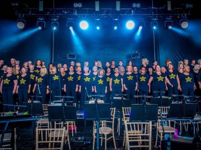 Bedford Rock Choir. Credit; Peter Hayes