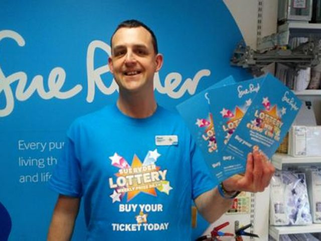 Sue Ryder lottery