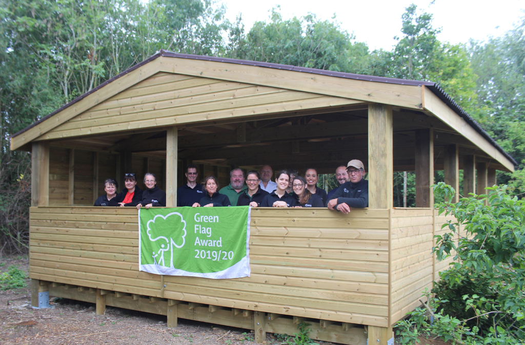 The Millennium Country Park in the Forest of Marston Vale - Green Flag