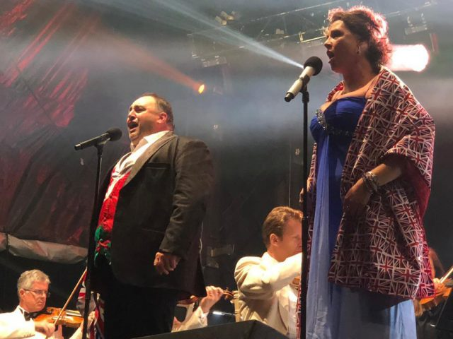 Wynne Evans and Sarah Fox Proms 2019