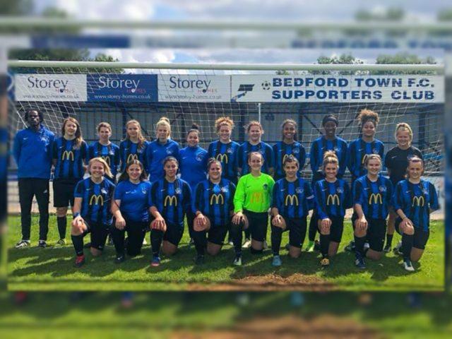 Bedford Ladies First Team 2019