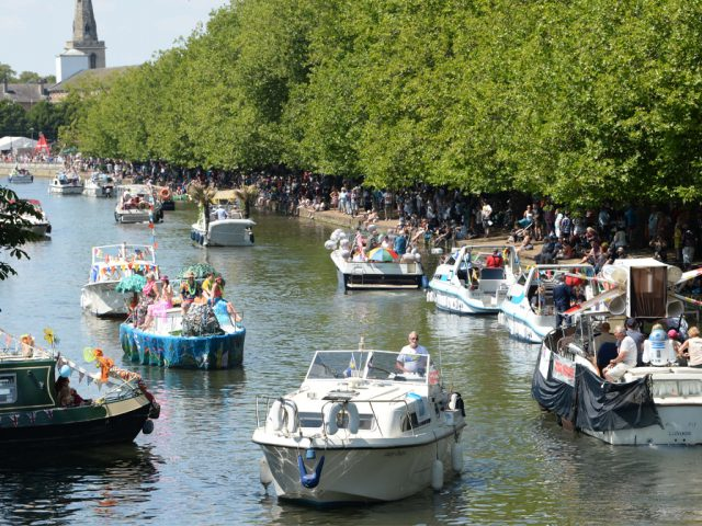Bedford River Festival regatta The Embankment