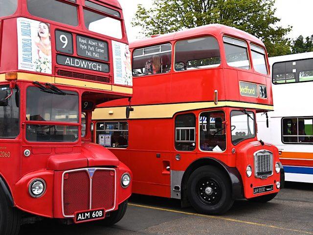 Bedford bus depot