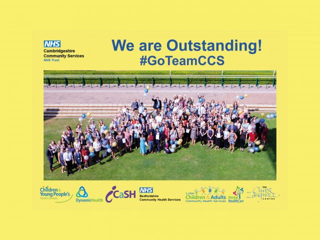 CQC NHS Bedfordshire Outstanding Aug 2019