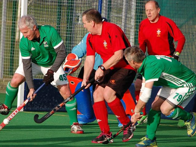 Chris Townson (No 45) Bedford Hockey Club