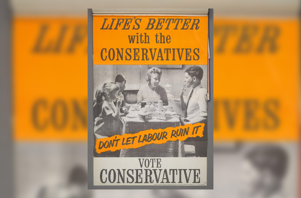 Conservative Campaign Poster 1959