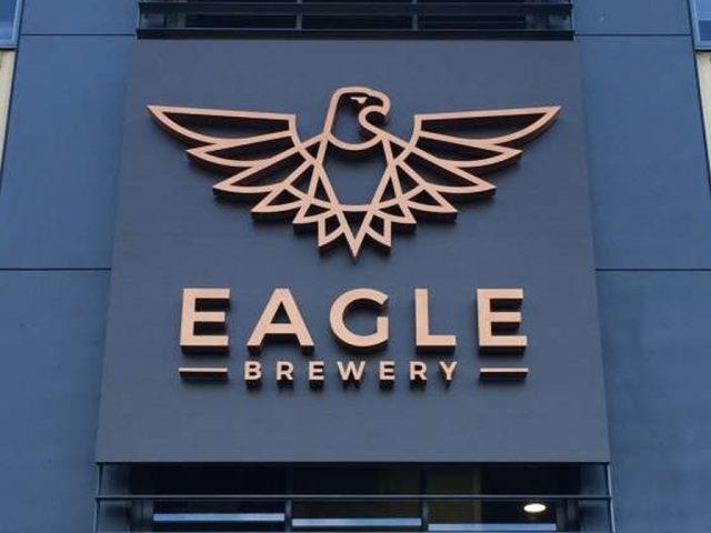 Eagle Brewery logo