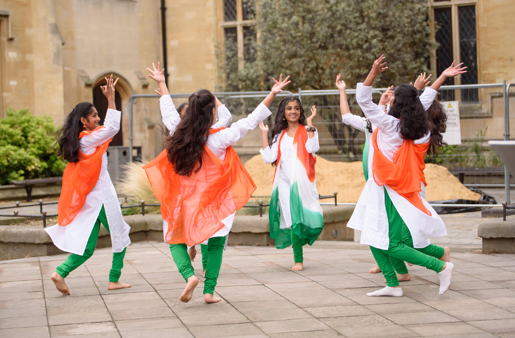 Nritham Dance Academy performing at Indian Independence Day 2019