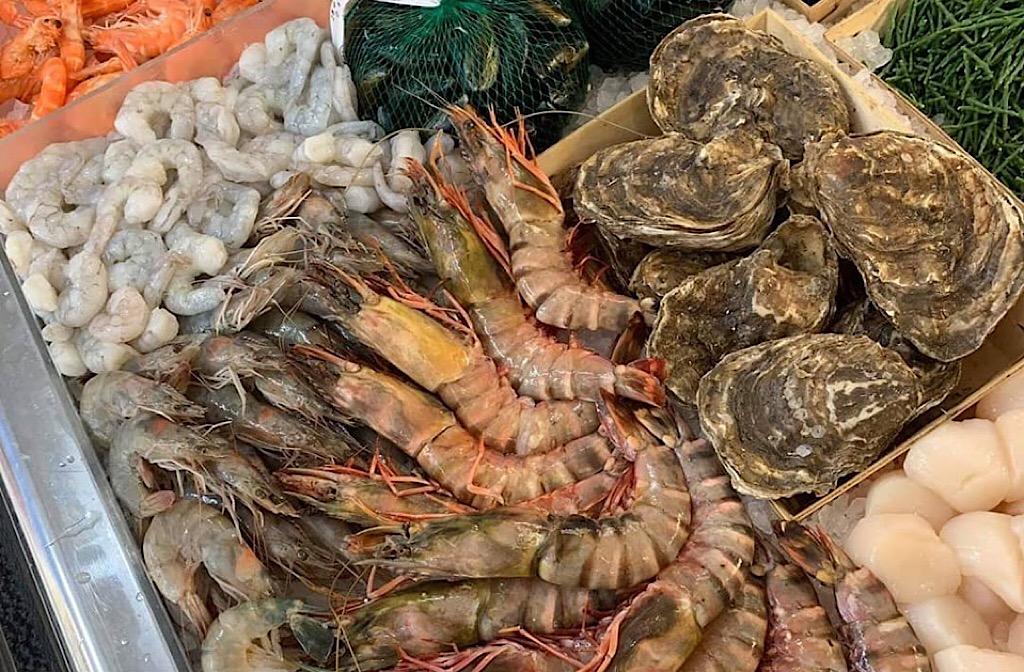 Blue Glass & GCH Fishmongers