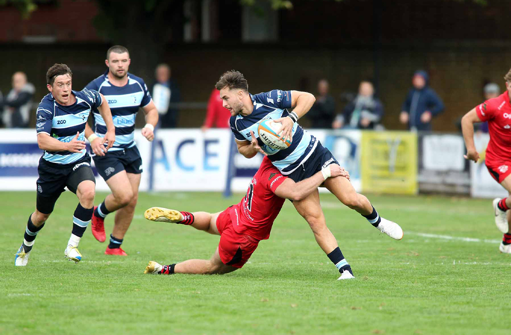 Bedford Blues v Jersey Reds