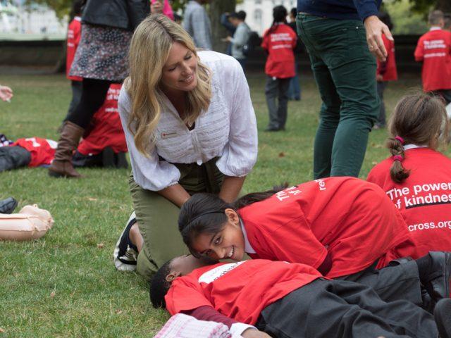 Marina Fogle First Aid Campaign