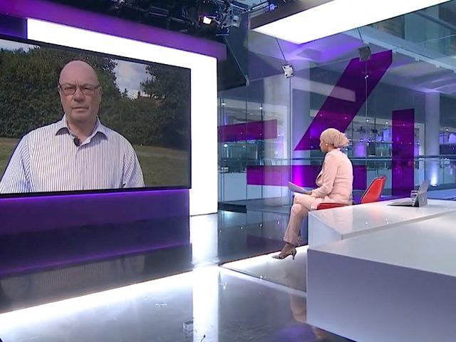 Alistair Burt MP Channel 4 News