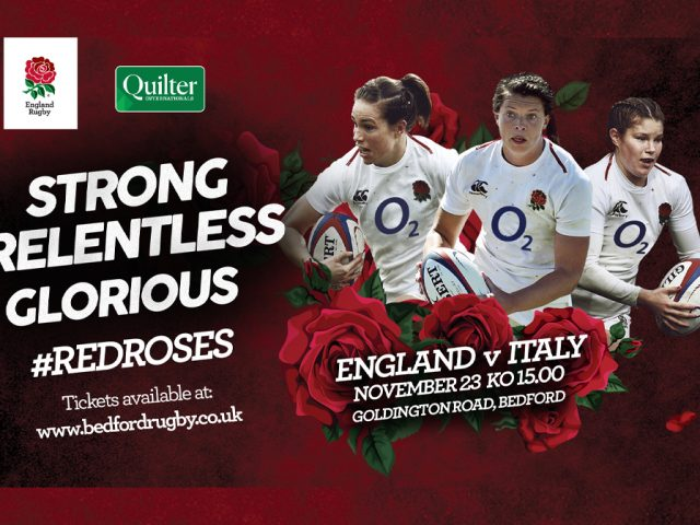 Red Roses Eng v Italy 23 Nov 2019