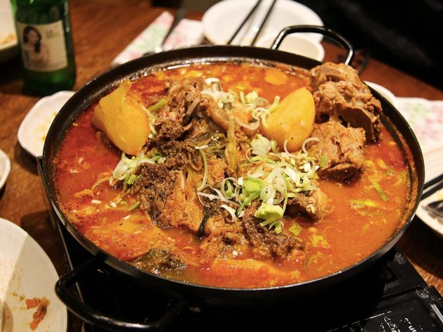 Curry in a big pot