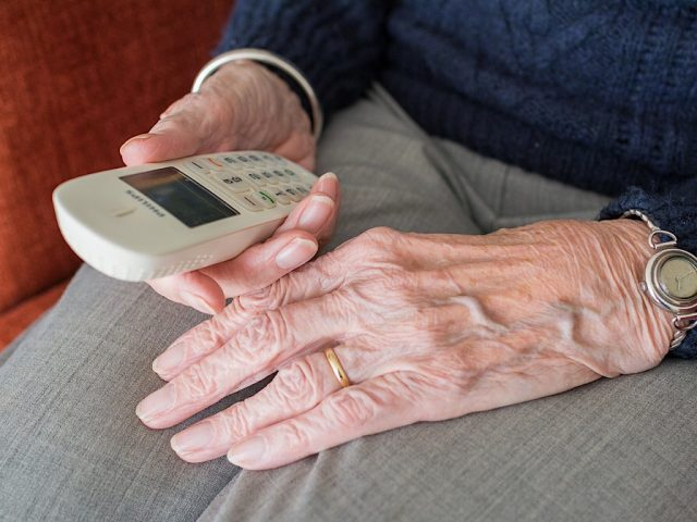Older person phone hoax