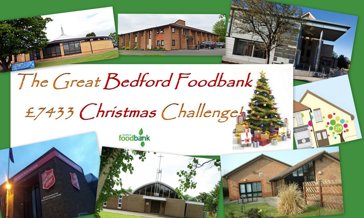 Launching The Great Bedford Foodbank 7433 Christmas