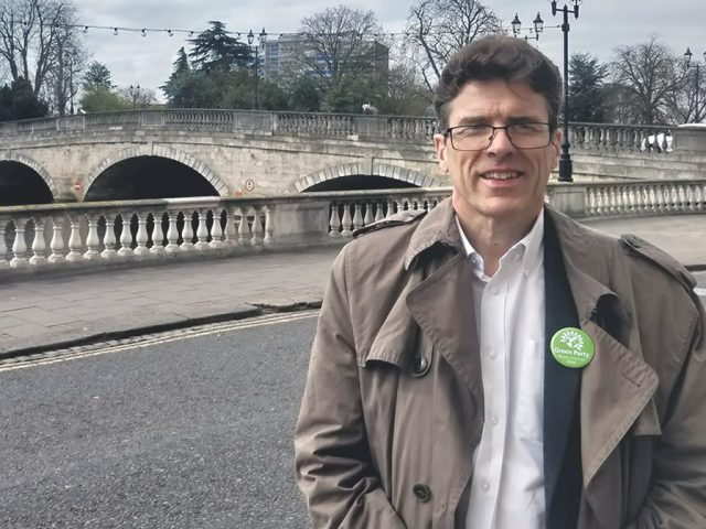 Adrian Spurrel Green Party