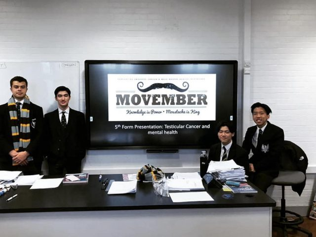 Bedford School Movember 2019