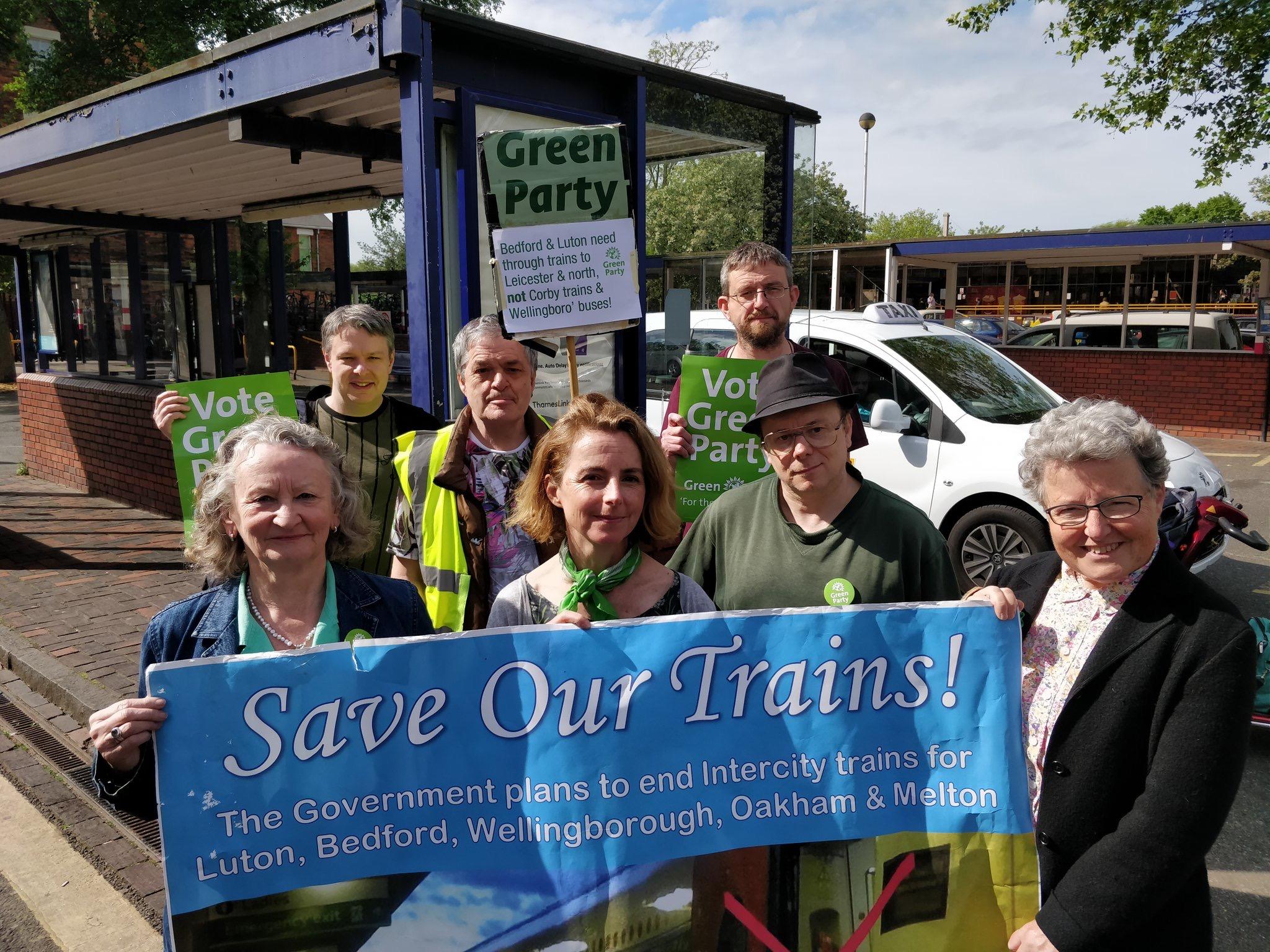 Ben Foley train campaign