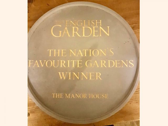 Nation's Favourite Garden award
