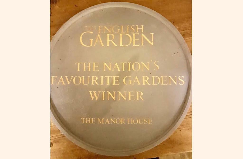 Nation's Favourite Garden award