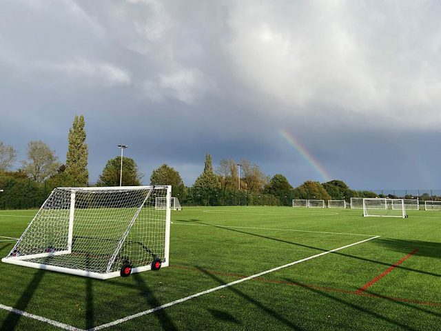 Mark Rutherford School all-weather pitch