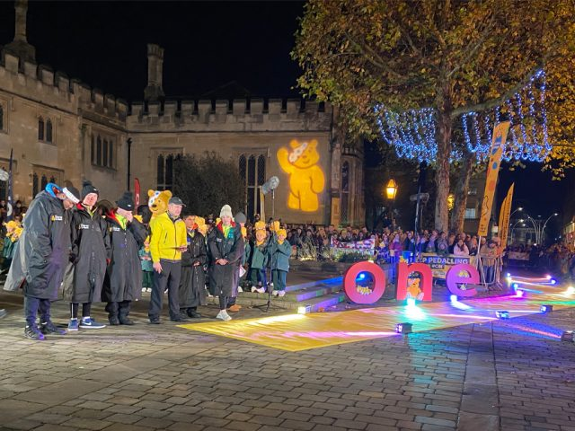 Rickshaw Challenge BBC Children in Need 2019