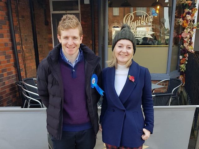 Ryan Henson and Liz Truss
