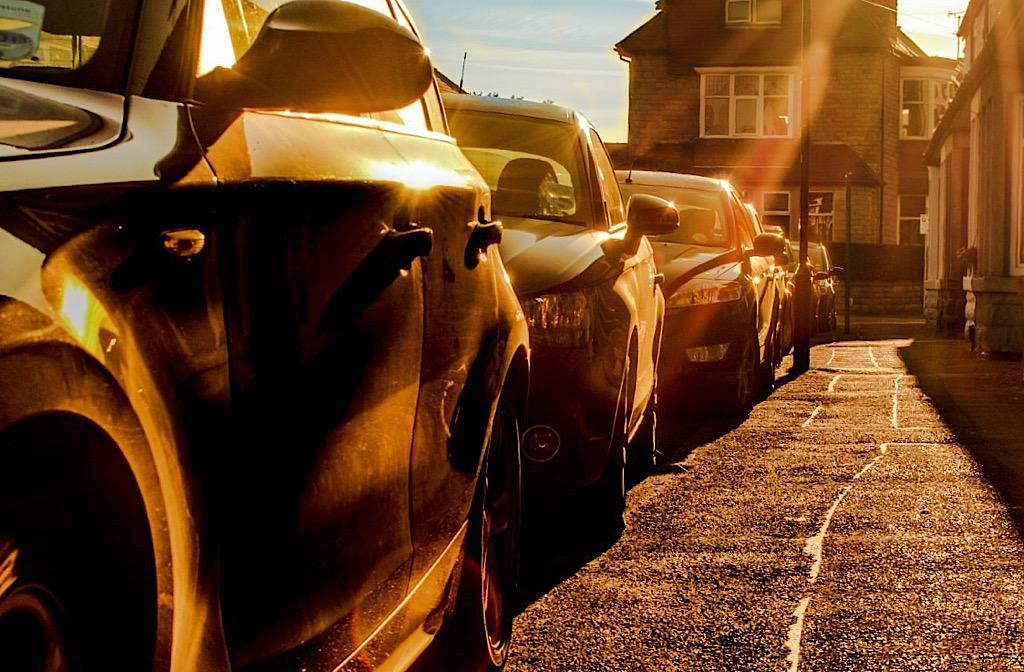 on street parking