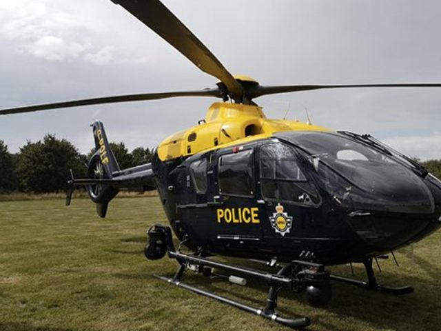 Bedfordshire Police Helicopter