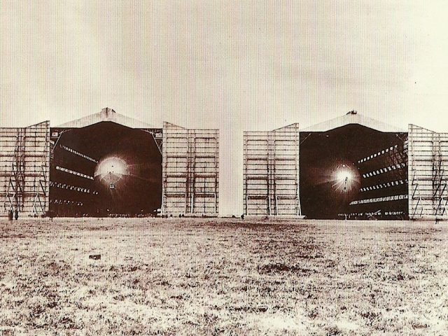 R-100 and R 101 at Cardington