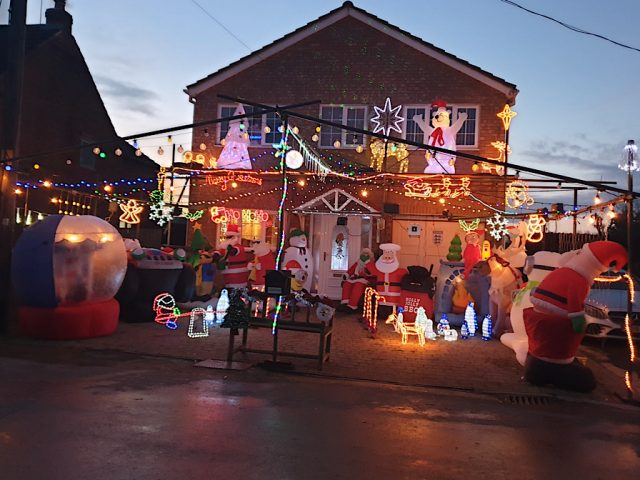 Wootton xmas house