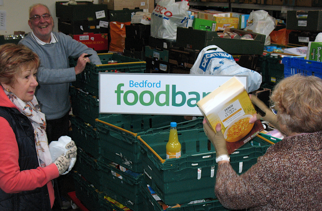 More Than 14000 Raised For Bedford Foodbanks Christmas