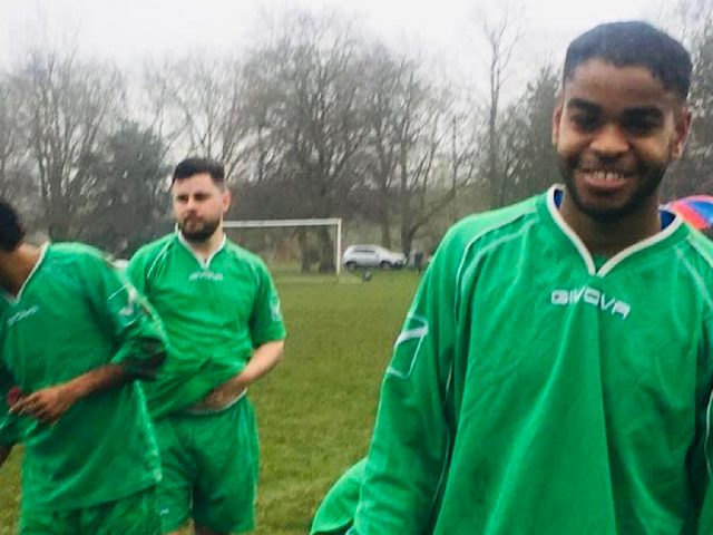 Players at Bruno's Brazilian Soccer School