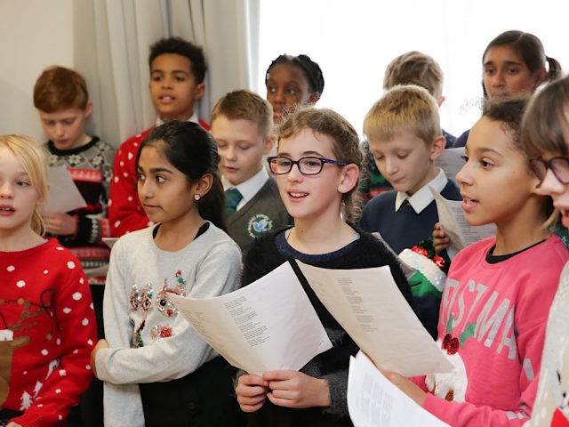 Brickhill Primary choir