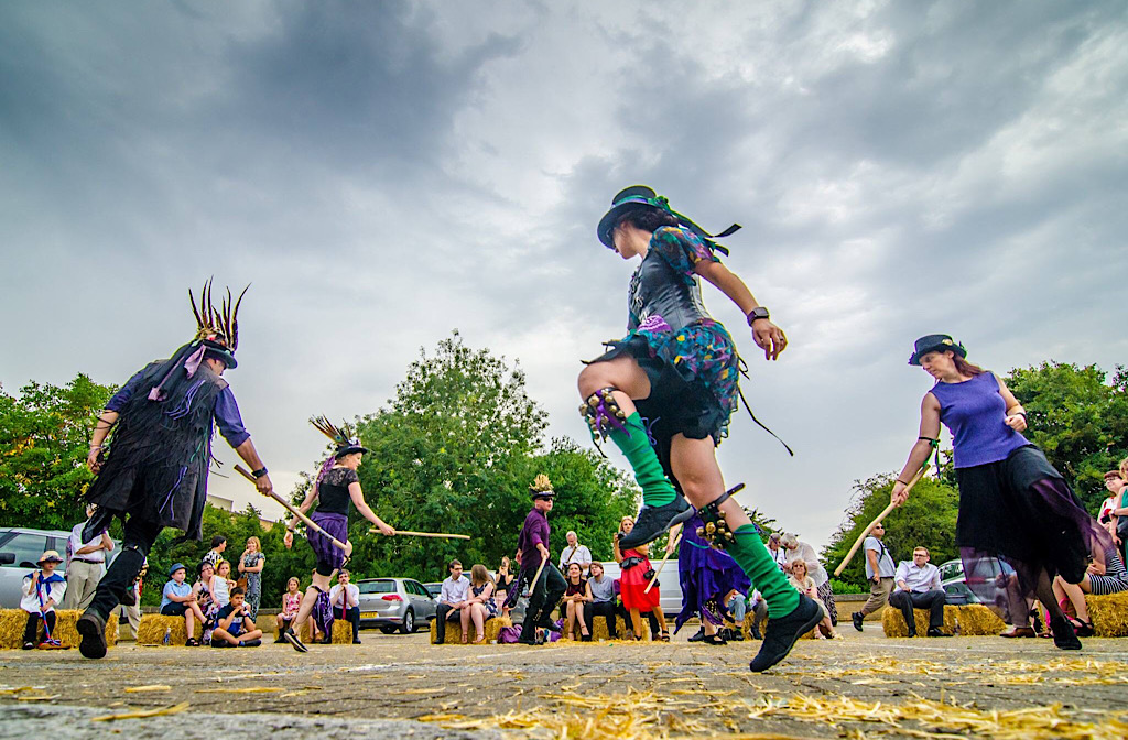 Hemlock Morris dancers (photo credit: Assan Tu)
